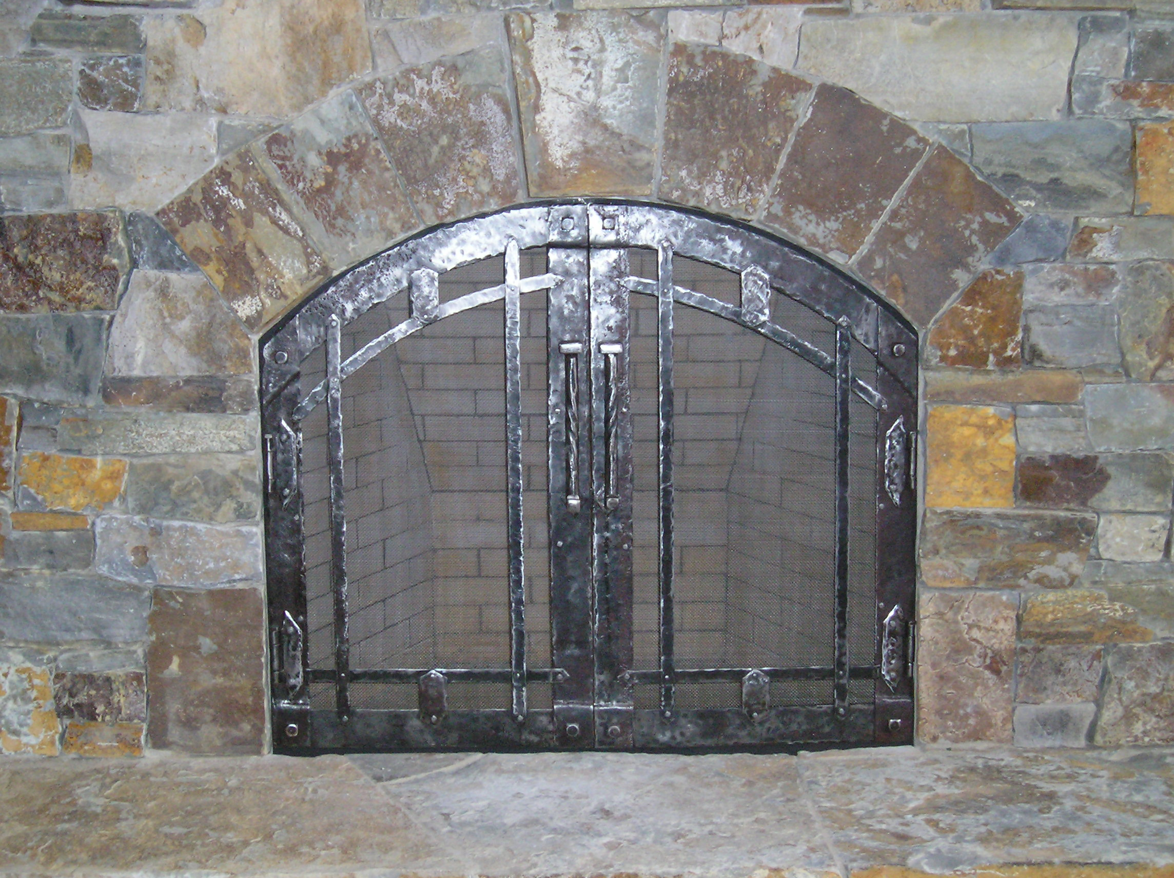 Interior Fireplace doors