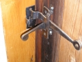interior latch handle